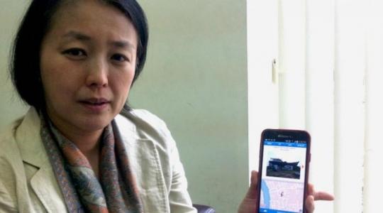 Dr. Nishi Yoshimi, peneliti dan pengembang aplikasi Aceh Tsunami Mobile Museum (ATMM) dan Menjejaki Kenangan (Memory Hunting) yang berbasiskan Android dariCenter for Integrated Area Studies (CIAS), Universitas Kyoto, Jepang.